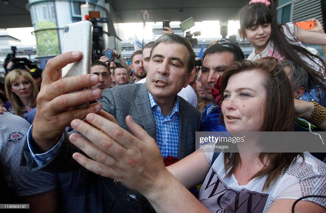 Зачем Саакашвили вернулся в Украину?