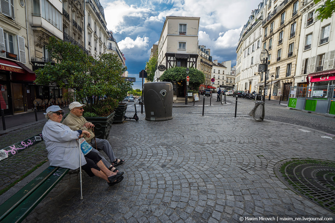 Без грязи и бомжей. Как на самом деле выглядит Париж.