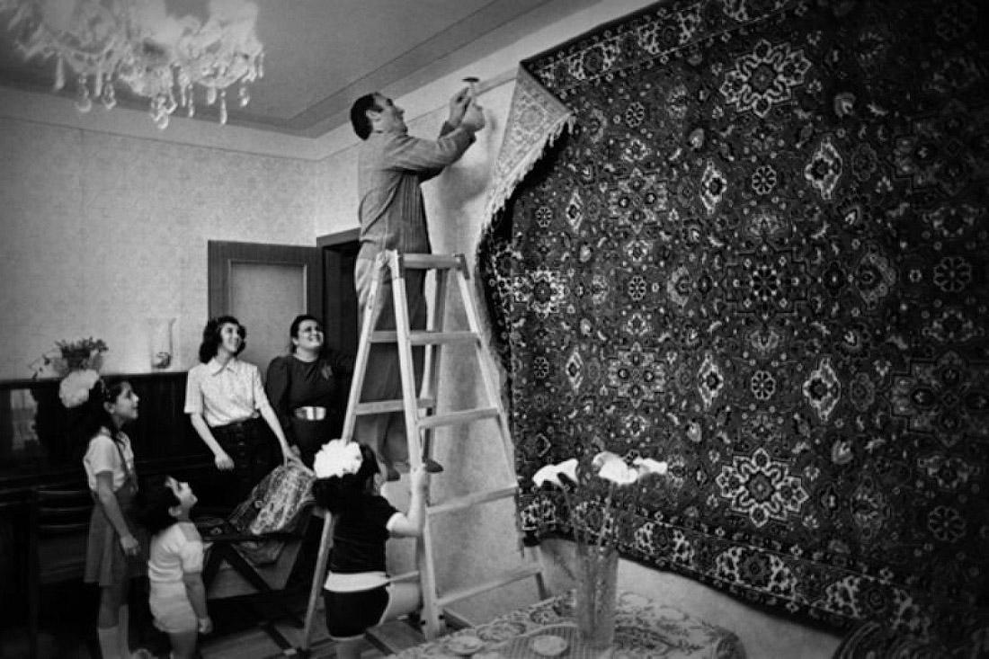 Убогие ремонты в советских квартирах.