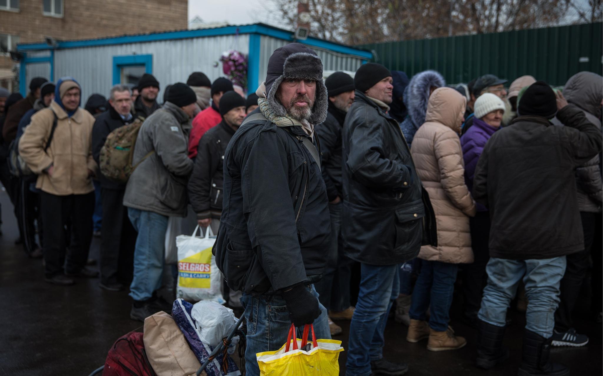 Лицо российской нищеты.