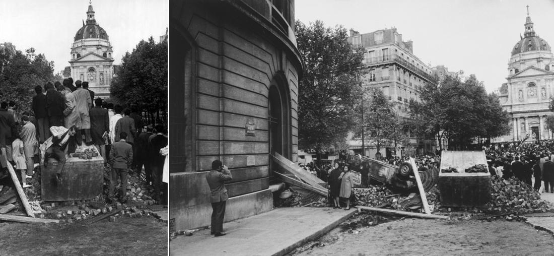 Париж. Эхо протестов 1968 года. протесты, Франции, студентов, улицы, Голля, которых, протестующих, более, Париж, Подписывайтесь, студенческих, который, Сорбонна, студентам, выступлений, полицейские, человек, партии, сотни, Парижа