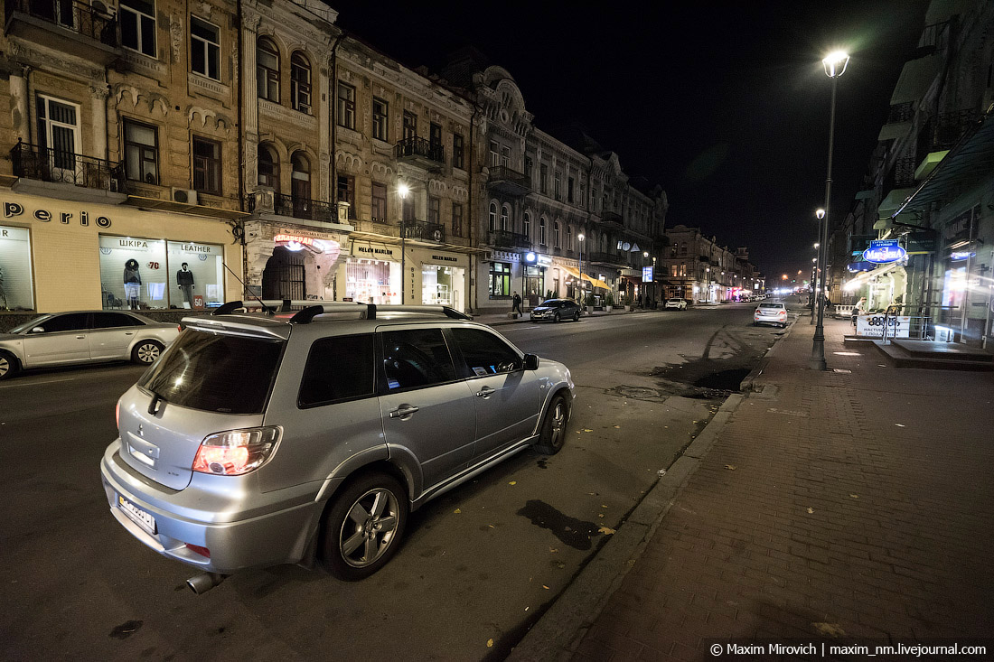 Киев осенью 2019 года. Остатки совка.