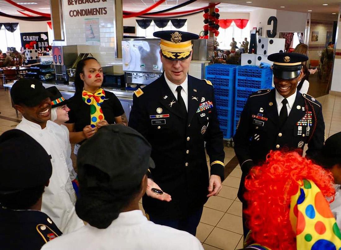 День благодарения в армии США.