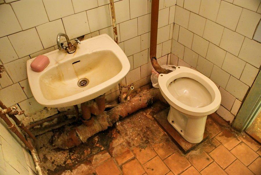 страна немытых туалетов