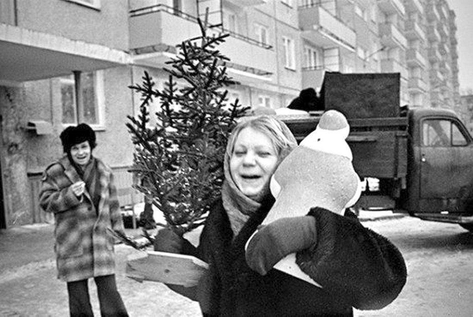 Как встречали Новый год в СССР (фото).