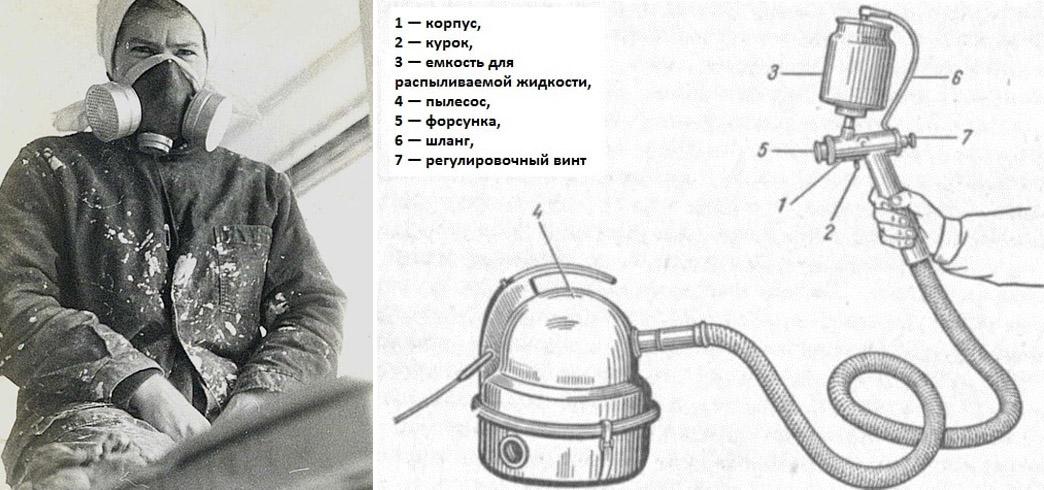 Убогие советские ремонты.