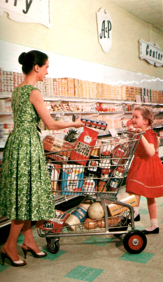 Магазины в США и СССР: сравнение
