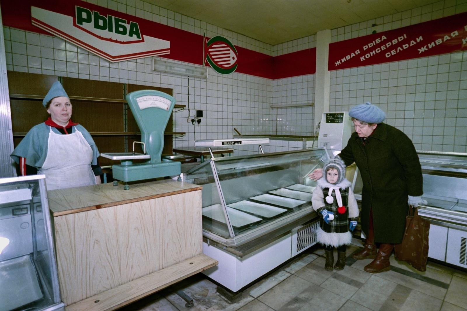 Ошеломляющие фото последних дней СССР