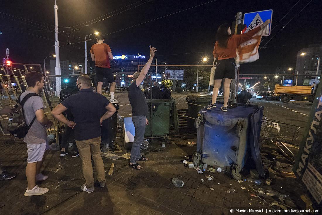 Что прямо сейчас происходит в Беларуси.