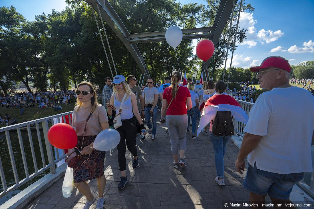 Вчера вся Беларусь вышла на протест!