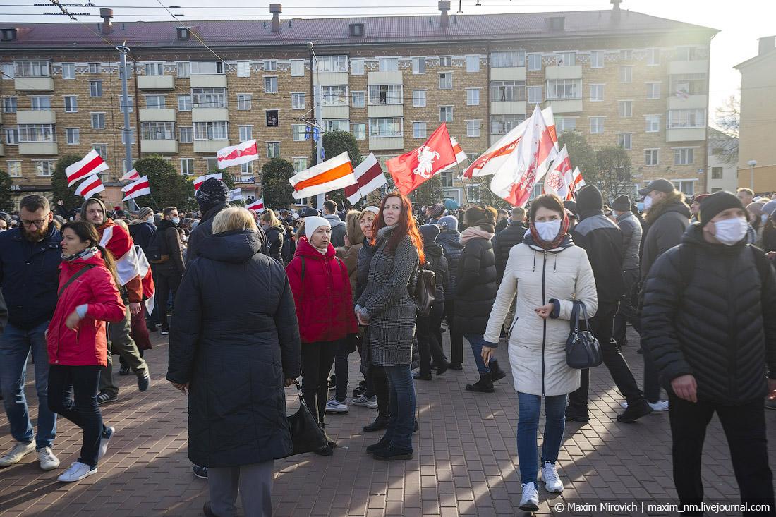 Невероятный Партизанский марш в Минске!