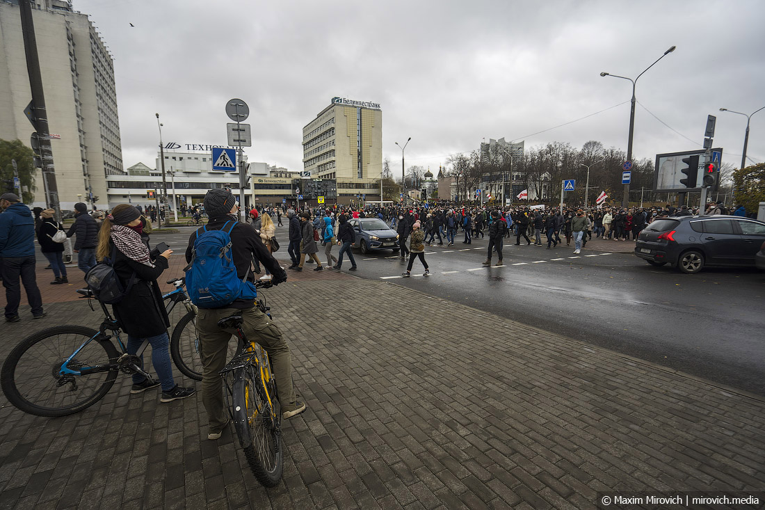 Минск. Марш тысячи арестов