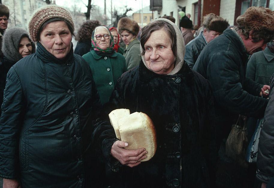 Ужас последних месяцев СССР. быт,СССР,диктатура,торговля,люди