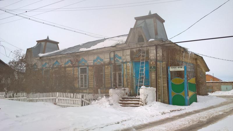 """Здание """"старой"""" почты в марте 2018 г."""