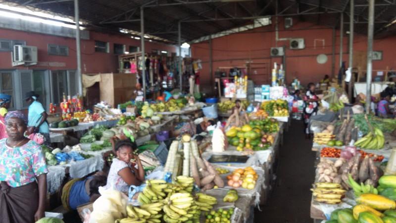 Рынок в Кабинде