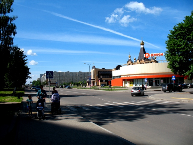 Десногорск 023 на главной улице