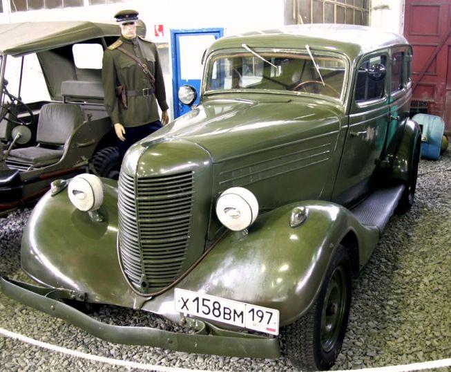 2 ГАЗ М-1 эмка