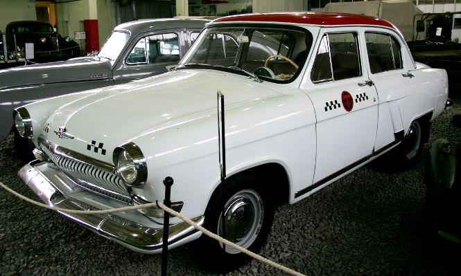 11 ГАЗ 21 такси