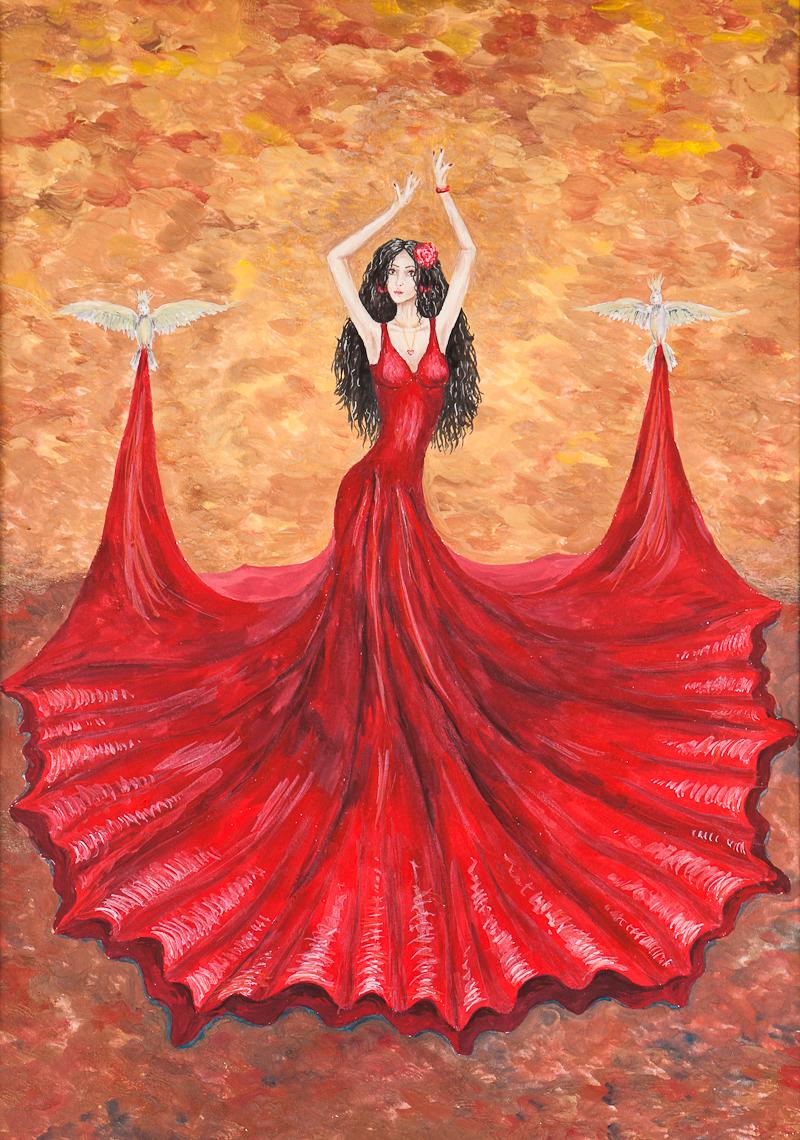 Конкурс фламенко в испании