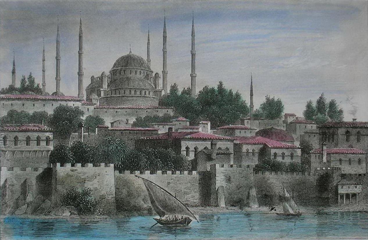Константинополь открытка