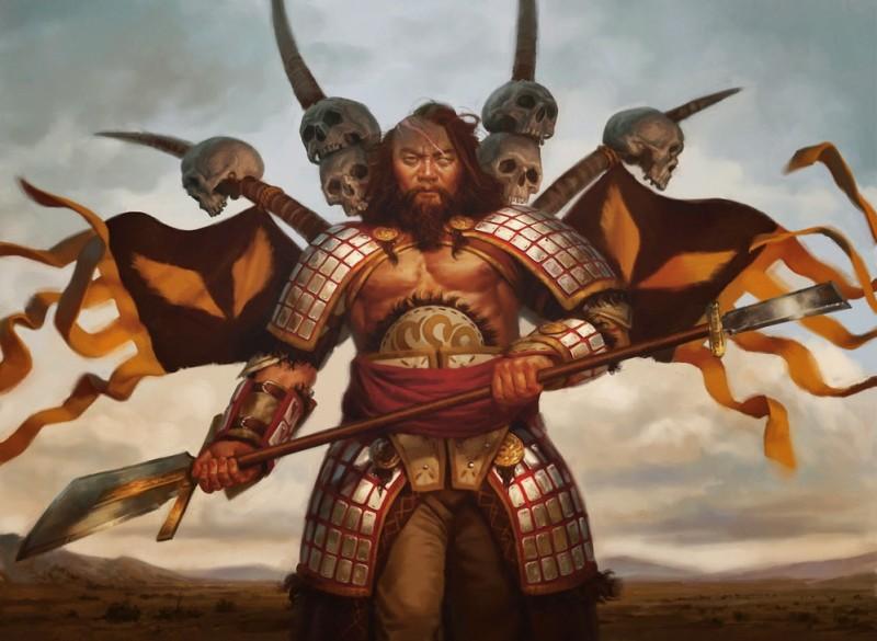Армянский Перун - косматый демон