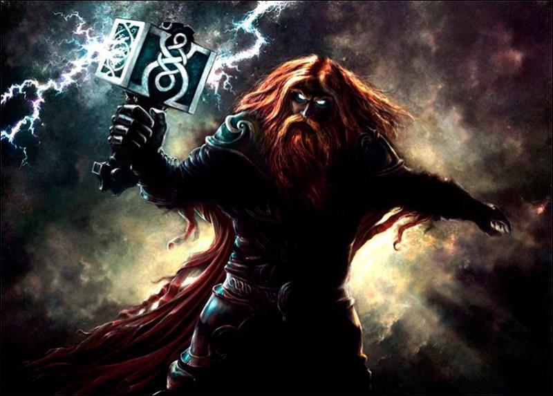 Армянский Перун - бог грома и войны