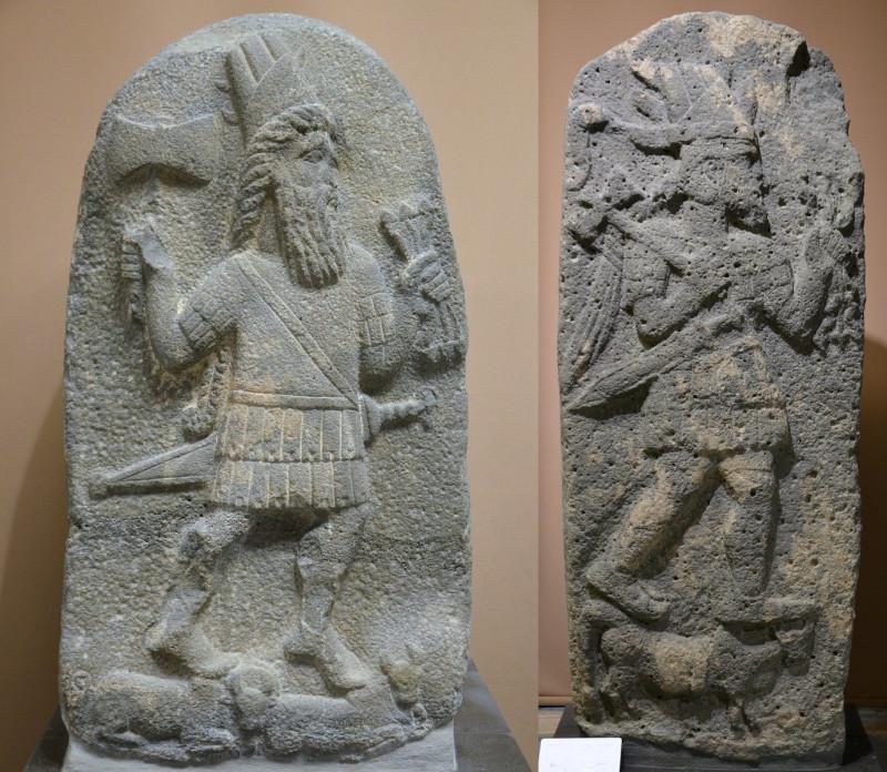 Армянский Перун - бог римлян и гуннов