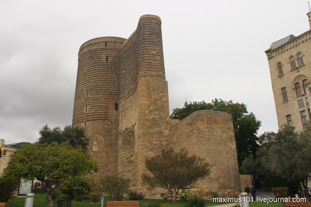 Тайны Девичьей башни в Баку