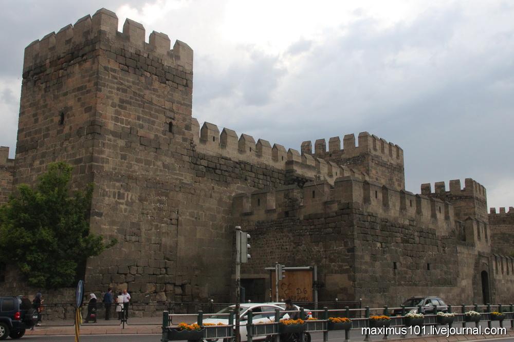 Старый город Кесарии Каппадокийской