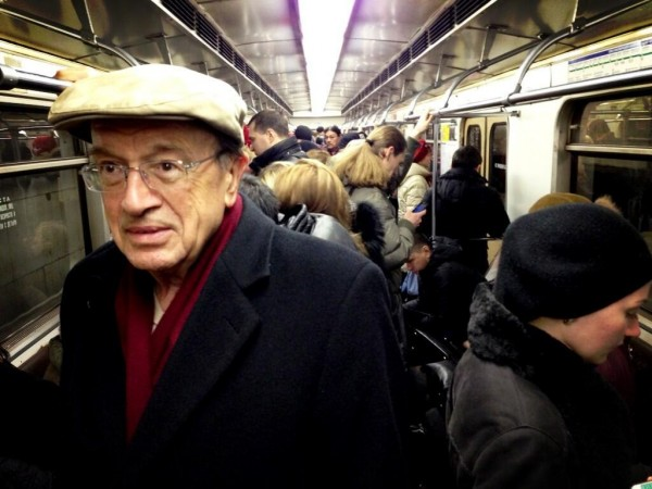 Вучик в метро