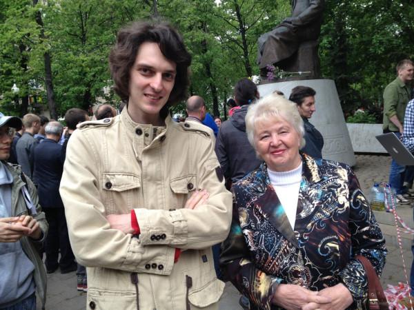 с бабушкой на Абае