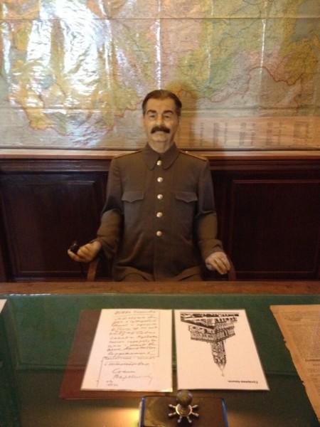 Сталин с письмом о башне