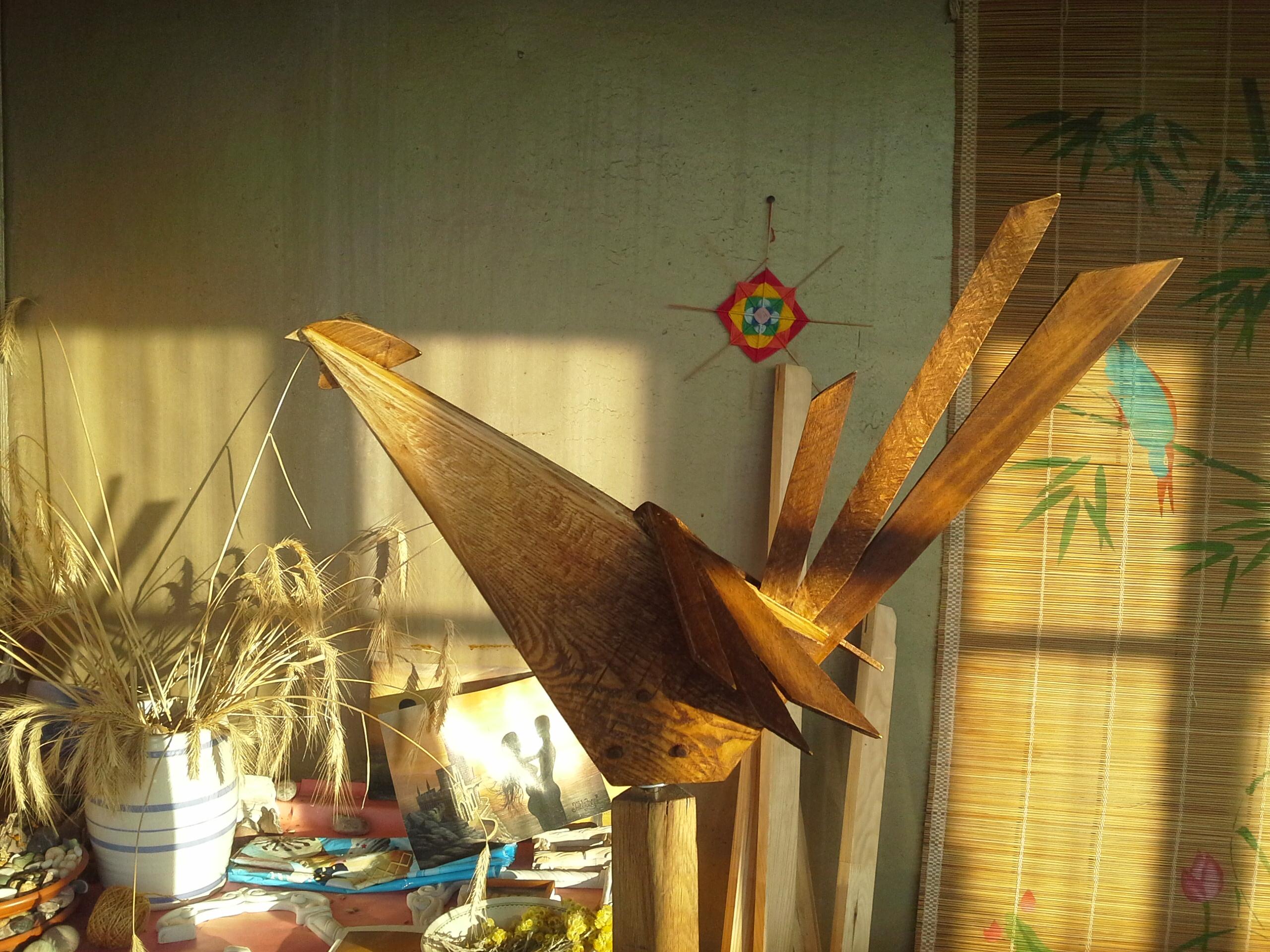 деревянная игрушка, петух, флюгер