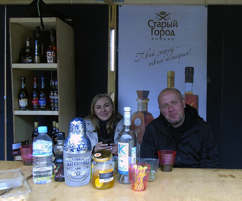 Фестиваль Taste of Moscow в Лужниках, окончание KiN1_girl_i_barman1B_vodka1+_aB