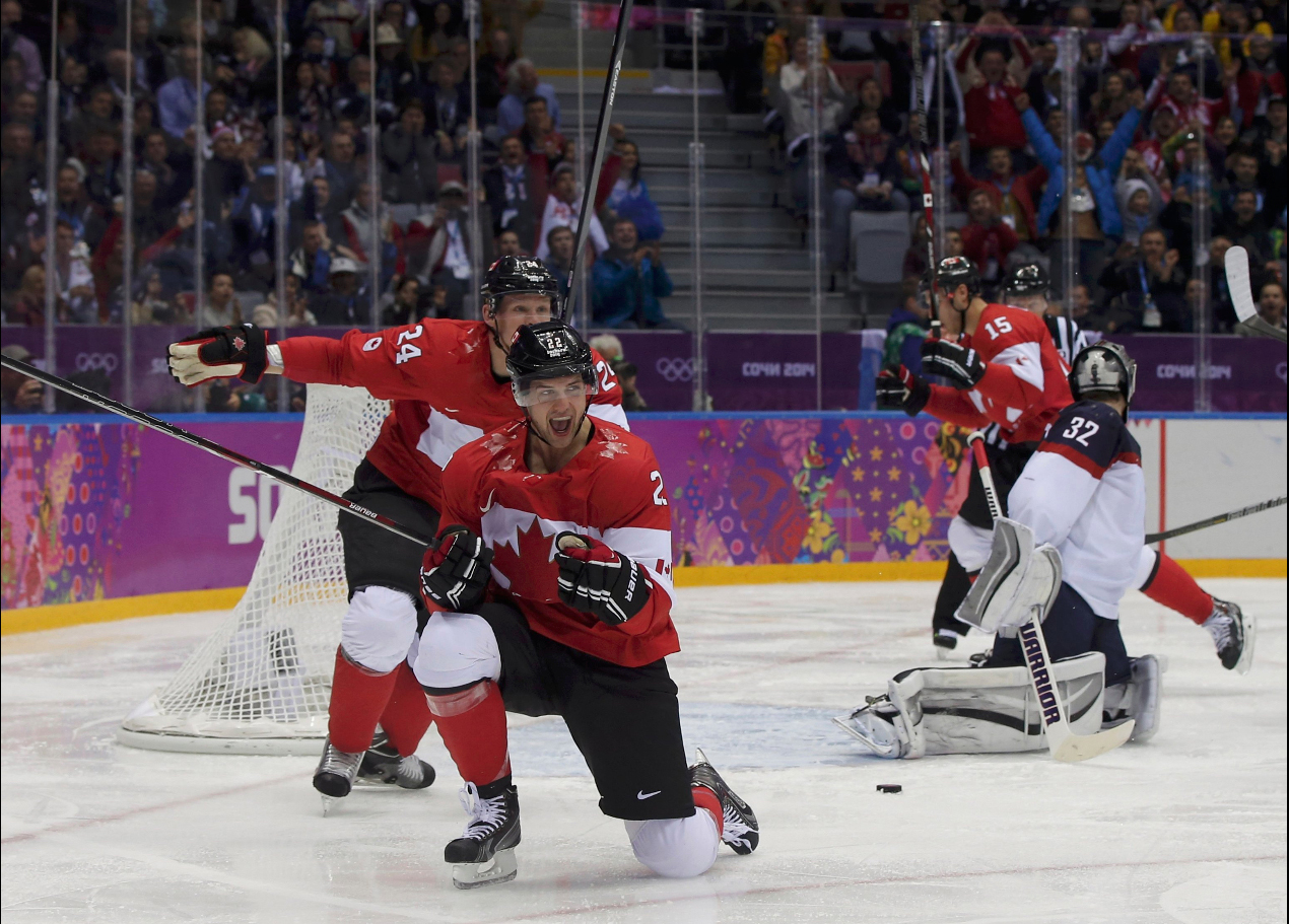Победный гол Канады