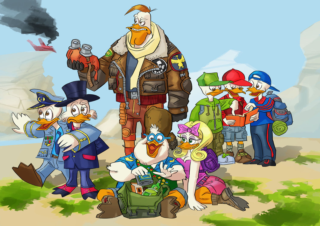 duck_tales_tribute_by_pappadipuppi-d5my1cr