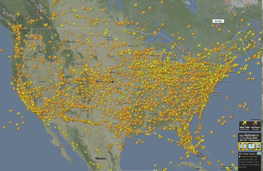 самолеты-америка