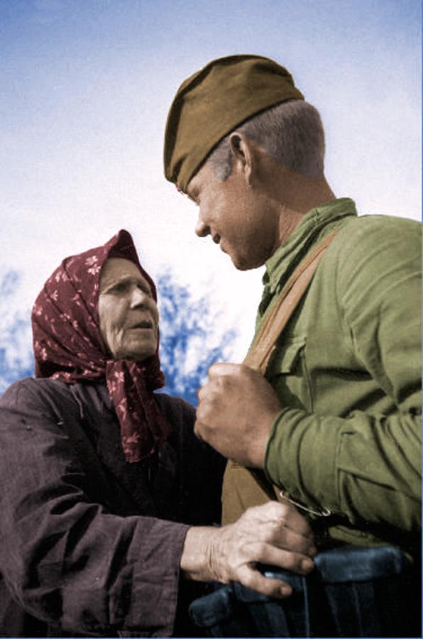 солдат-и-старуха-