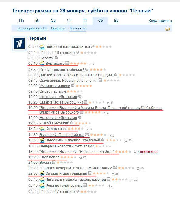 Телепрограмма 21 09 канал 5