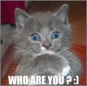 Who are you? :)