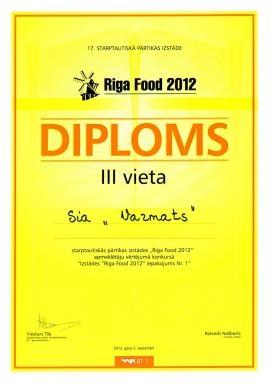Riga_Food 2012