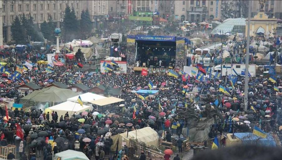 Майдан на Різдво