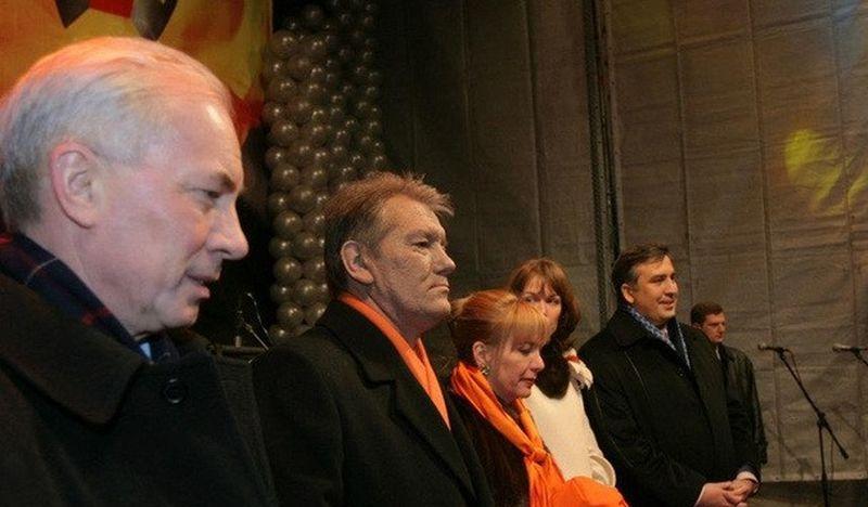 Рогозин на трибуне оранжевого майдана
