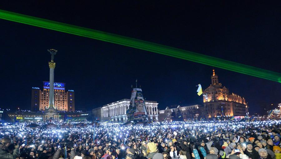Новый год, майдан, Евромайдан, протест, митинг