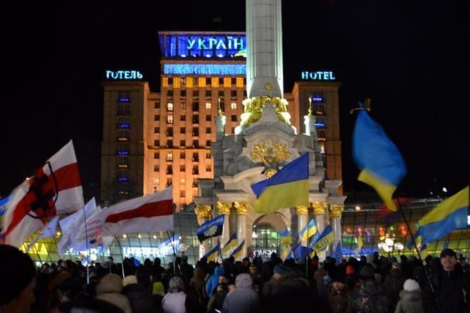 Новый год на Майдане