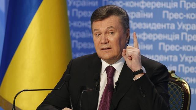 Янукович, Майдан, петиция, требования, санкции