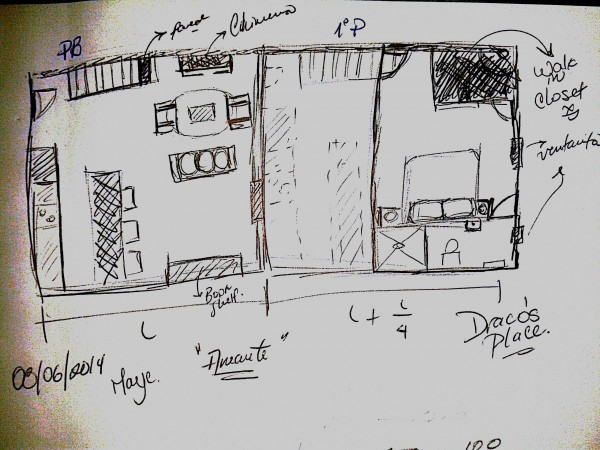 Draco's Place sketch