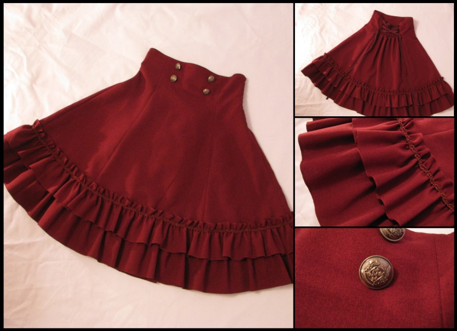 07 Two Tier Frill Skirt