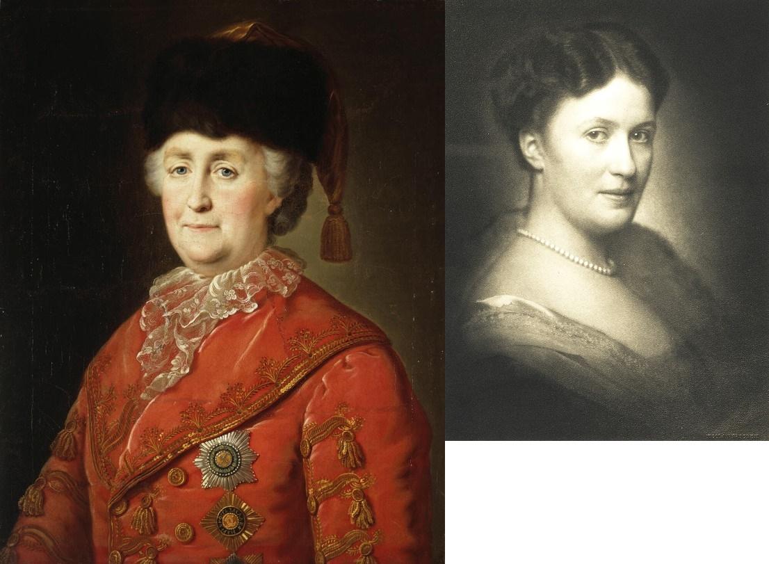 Екатерина Великая и Берта Крупп 1
