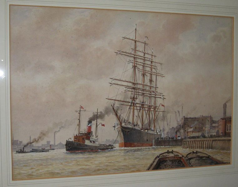 762px-Watercolour_The_Pamir_Sails_from_Wapping